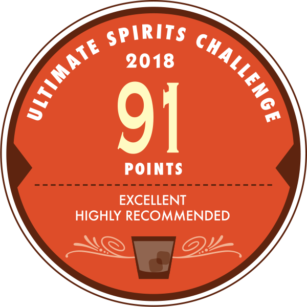 Ultimate Spirits Challenge 2018 - 91 pts